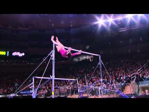 Alexandra Raisman - Uneven Bars - 2012 AT&T American Cup