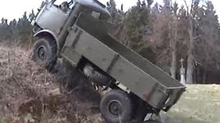 getlinkyoutube.com-Tatra 805 with no single modification / offroading