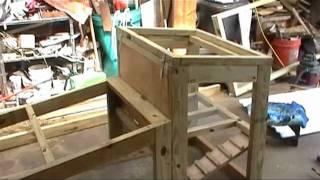 getlinkyoutube.com-Small Chicken Tractor EASY DIY Build