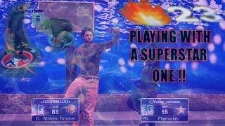 getlinkyoutube.com-NBA 2K17 MyPARK   PLAYING w/ A SUPERSTAR 1   23 WIN STREAK!