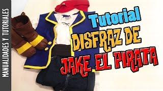 getlinkyoutube.com-TUTORIAL DISFRAZ DE JAKE EL PIRATA, HALLOWEEN -Los290ss