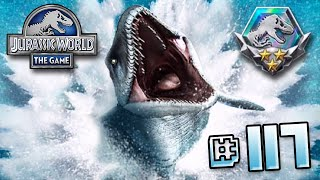 getlinkyoutube.com-Full Mosasaur Event!! || Jurassic World - The Game - Ep 117 HD