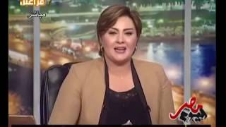مذيعة مصرية تنهار على الهواء بسبب نشر صور مخلة لها