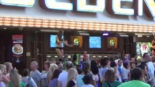 getlinkyoutube.com-Walking Fremont Street Las Vegas Unedited