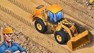 getlinkyoutube.com-Kids Construction Vehicles App for Kids - Bulldozer, Crane, Trucks, Excavator (iPad, iPhone)