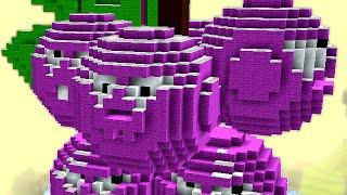 getlinkyoutube.com-Minecraft vs Zombies | GIGA GRAPESHOT (For the good old days!) | PvZ  Land