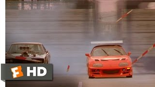 getlinkyoutube.com-The Fast and the Furious (10/10) Movie CLIP - Brian Races Dominic (2001) HD