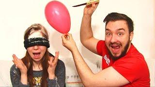 getlinkyoutube.com-EXTREME BALLON CHALLENGE 2 en COUPLE !! OEUF POURRI BALLON MYSTERE  !