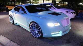 getlinkyoutube.com-WhipAddict: Yo Gotti's CMG Tiffany Edition Bentley Continental GT on F2.01 ECX Forgiatos Custom Wrap