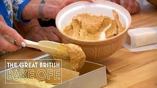 Battenberg Cake - How to Prepare the Mix