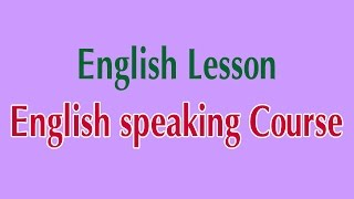 getlinkyoutube.com-Learn English Online - English speaking Course English Lesson