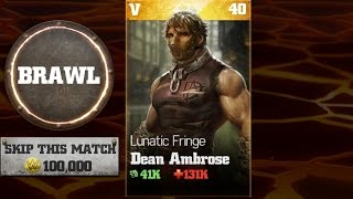 getlinkyoutube.com-WWE Immortals - Dean Ambrose Boss Battle Nightmare Mode