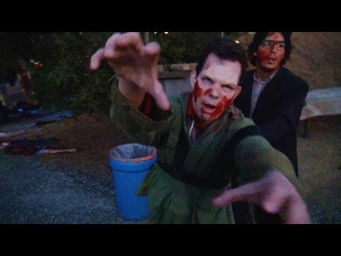 Terror Tram: Invaded by The Walking Dead at Halloween Horror Nights 2012 Universal Studios Hollywood