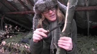 getlinkyoutube.com-Carving A Bushcraft Spoon