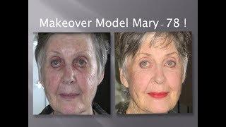 getlinkyoutube.com-Makeup for 70's Something Model Mary