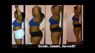 getlinkyoutube.com-Kiki The Fitness Coach P90X Journey