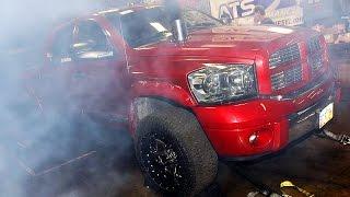 getlinkyoutube.com-Dyno Testing - Day 1 of Diesel Power Challenge 2014!