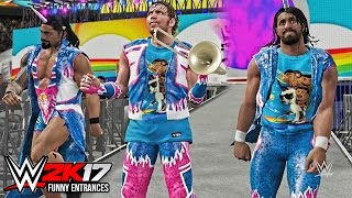 getlinkyoutube.com-WWE 2K17 -Top 10 Funny Entrances ft John Cena, Undertaker, Brock Lesnar, Goldberg! ( PS4 & XB1 )