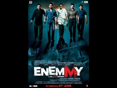 Akshay, Suniel & Mithun in Enemmy