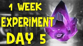 getlinkyoutube.com-1 WEEK EXPERIMENT DAY 5 | MARVEL: Contest of Champions (iOS/Android)