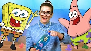 "getlinkyoutube.com-""Spongebob"" inspired Craft - Ocean in a Bottle w/ Crafty Carol at Cool School"
