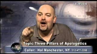 Atheist Experience #662: The three pillars of apologetics