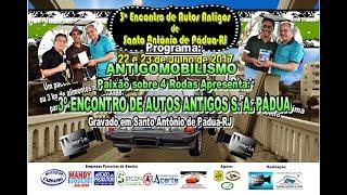 3º Encontro de Santo Antônio de Pádua-RJ