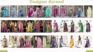 getlinkyoutube.com-Designer Sarees, Salwar Kameez, Lehenga, Bridal Wear Exclusively from SareeNet!
