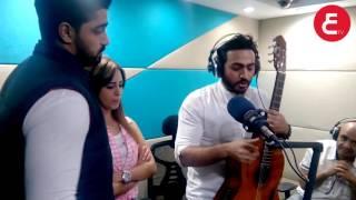 getlinkyoutube.com-اتفرج على تامر حسنى مع رنا سماحة ومينا عطا فى الراديو 9090