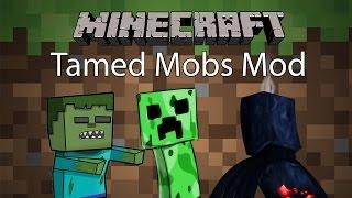 getlinkyoutube.com-Minecraft Mod รีวิว - Mod เชื่อง | Tamed Mobs Mod