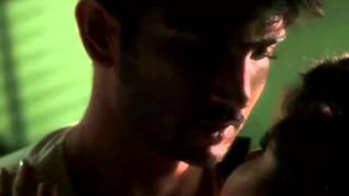 Sushant Singh Rajput Hot Kissing scene from Detective Byomkesh Bakshy