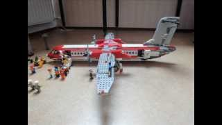 getlinkyoutube.com-Lego Bombardier Dash-8 q-400