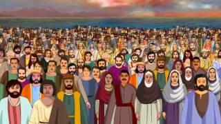 getlinkyoutube.com-Bible stories for kids - Feeding 5000 ( Jesus Cartoon Animation in English )
