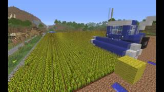 getlinkyoutube.com-Minecraft [Farmářův den] farmer's day