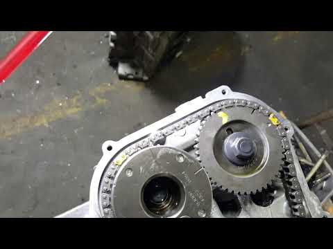 Nissan Altima timing chain timing marks and how to cancel the balancer on the 2.5 nissan