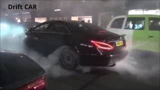 getlinkyoutube.com-Давидыч прав. Mercedes-Benz CLS63 AMG Drift