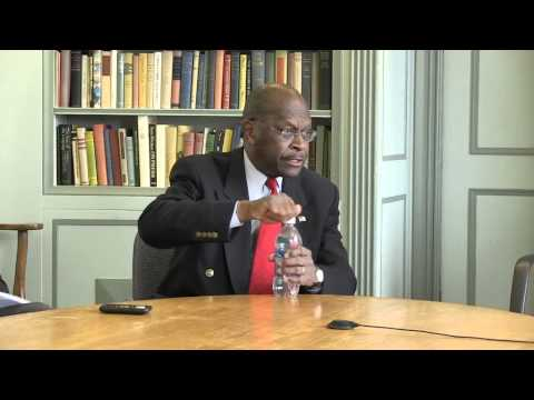 Full interview with Herman Cain
