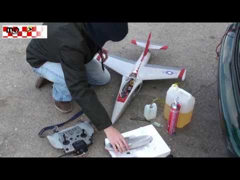 Turbo Twister Flight - RC Jet Twister with Lambert Kolibri Turbine
