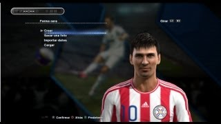 getlinkyoutube.com-PES 2013 {PC} PARAGUAY (FACES)