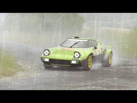 DIRT Rally Germany Kreuzungsring Lancia Stratos