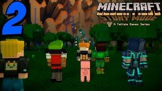El lugar mas lejos de Minecraft!! - MINECRAFT STORY MODE - Episodio 4 (Parte 2)