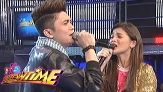 getlinkyoutube.com-Vhong and Anne's 'My Endless Love' duet on It's Showtime