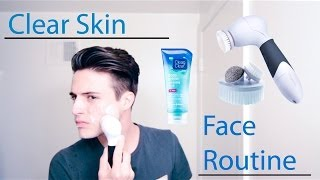 getlinkyoutube.com-Clear Skin - My Face Routine (For Men)
