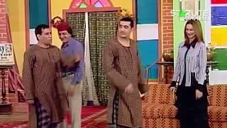 Zafri Khan, Nargis and Nasir Chinyoti New Pakistani Stage Drama Full Comedy Funny Clip width=