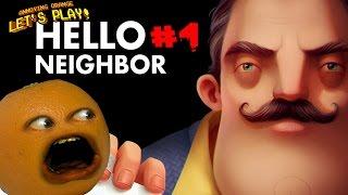 getlinkyoutube.com-Annoying Orange Plays - Hello Neighbor #4: THE BASEMENT!!!