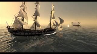 getlinkyoutube.com-HMS Victory Vs. USS Constitution; Empire - Total War (Machinima).