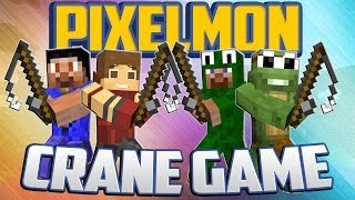 getlinkyoutube.com-Minecraft Pixelmon Mini-Game: Crane Game w/LittleLizard, TinyTurtle and Vikkstar!