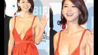 getlinkyoutube.com-[BIFF]Red Carpet - 오인혜, 아찔 드레스에 취재진도 '당황'