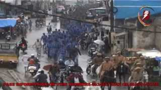 getlinkyoutube.com-BARQ NEWS..RAF AND BSF FLAG MARCHED IN OLD CITY ADDL COMMISSIONER AND DCP SOUTH TAKEN PART
