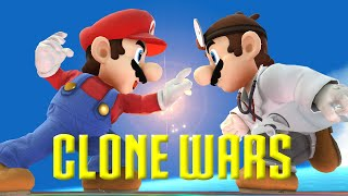 getlinkyoutube.com-Clone Wars: Mario VS. Dr  Mario (The Differences)